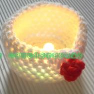 Crochetronix Diy Crochet Lamps Tealight Holders