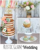 Cupcake Diy Display Wood Cake Plate Simple