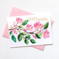 Custom Invitations Unique Wedding Watercolor