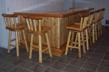 Custom Made Bar Stools Regarding Aspiration Furniture