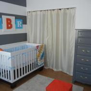 Custom Nursery Art Kimberly Modern Baby Boy Ideas