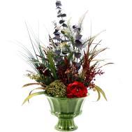 Custom Spring Decor Silk Flower Arrangement Home