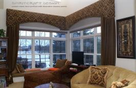 Custom Window Treatments Drapery Valance Swags