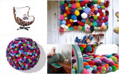 Cute Colorful Diy Pom Crafts Ideas Arch Art