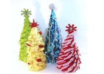 Cute Colorful Diy Tabletop Christmas Tree