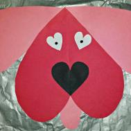 Cute Dog Valentines Day Craft Kids Crafty Morning