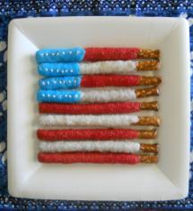 Cute Food Kids 4th July Party Ideas