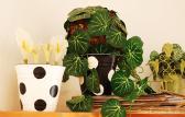 Cute Simple Stuff Diy Polka Dots Painted Pots Home Decor