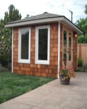 Dad Office Micro Structures Backyard Offices Art