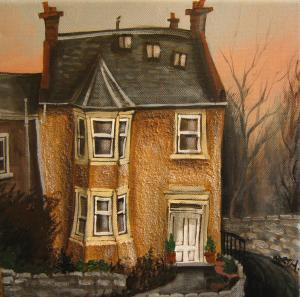 Daniel Worth Art Paintings Houses