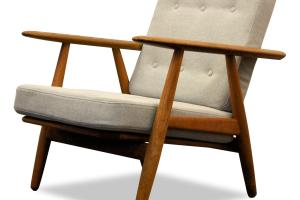 Danish Design Hans Wegner Cigar 240 Oak Lounge