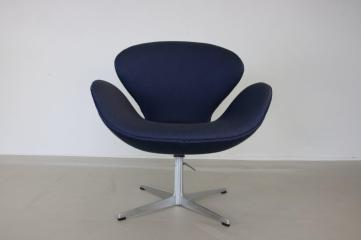 Danish Swan Chair Arne Jacobsen Fritz Hansen 1960s