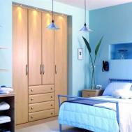 Dark Blue Interior Designs Kitchen Accent Wall Ideas