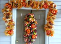 Deco Mesh Fall Harvest Autumn Garland Decor