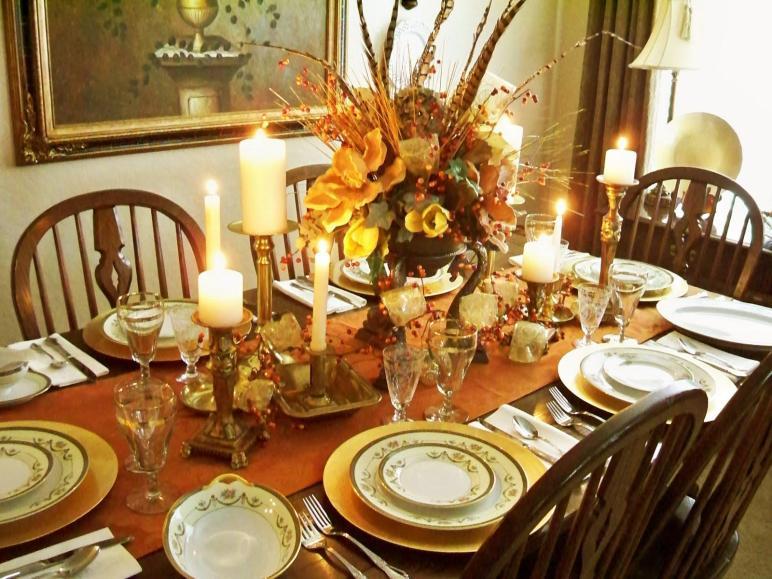Decoraci Mesas Para Thanksgiving 1001 Consejos