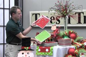 Decorate Christmas Party Table Trees Trends