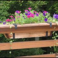 Decorate Deck Rail Planters Home Decor Inspirations