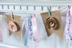 Decorate Mantel Spring Diy Burlap Banner