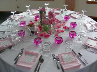 Decorate Table Party Photograph Arranging