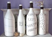 Decorate Wine Bottle Decorated