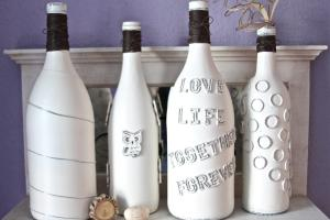 Decorate Wine Bottle Decorated