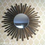 Decorating Cents Diy Sunburst Mirror