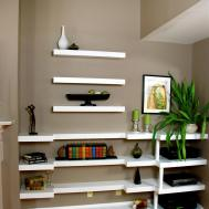 Decorating Floating Shelves Interior Design Styles