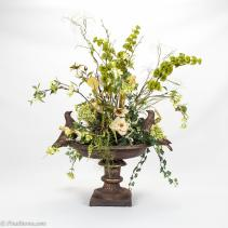 Decoration Decorating Spring Faux Flower Arrangements