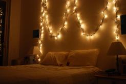 Decorative Lights Bedroom Home Design
