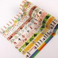 Decorative Paper Craft Washi Tape Adhesive Diy Mask