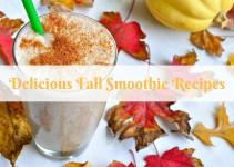 Delicious Fall Smoothie Recipes Sparkle Glow