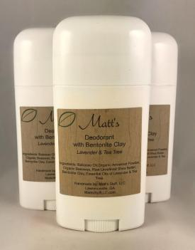 Deodorant Homemade Bentonite Clay Coconut Oil