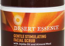 Desert Essence Facial Scrub Jojoba Oil Almond Meal
