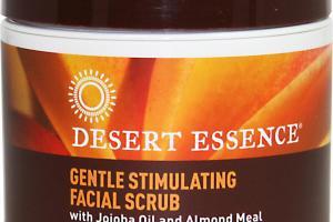 Desert Essence Facial Scrub Jojoba Oil Almond Meal