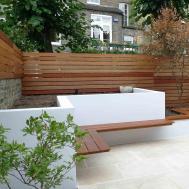 Design Modern Garden Ideas Perfect Slim Courtyard House