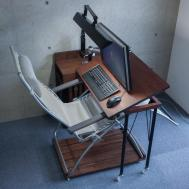 Desk Can Work Recliner Chairs Keyboard