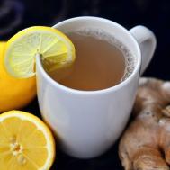 Detoxing Lemon Ginger Tea Health Wellness