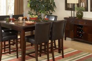 Dining Chair Seat Height Standard Room Table Vidrian