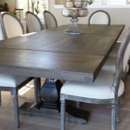 Dining Room Fascinating Expandable Table Dark