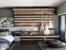 Dining Room Feature Wall Ideas Reclaimed Wood