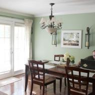 Dining Room Green Walls Best Ideas