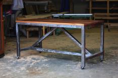 Dining Room Industrial Steel Frame