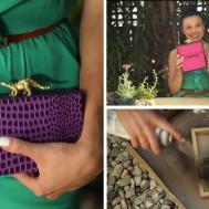 Dino Clutch Bag Diy Craft Teen Ashley Adams