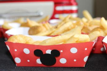 Disney Side Food Tray Diy Everyday Party Magazine