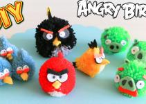 Diy Angry Birds Pom Natalidoma