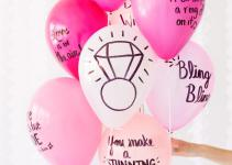 Diy Balloon Wishes Bride