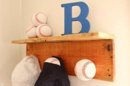 Diy Baseball Cap Hat Rack