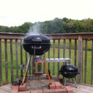 Diy Bbq Smoker Garage Gym Guy