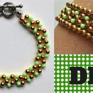 Diy Beaded Simple Elegant Bracelet Jewelry Making