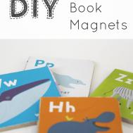 Diy Board Book Magnets Little Big Story